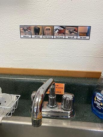 hand washing pictures
